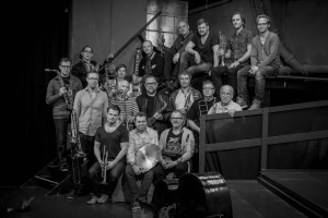 Stockholm Jazz Orchestra in the 5th Jazzing edition
